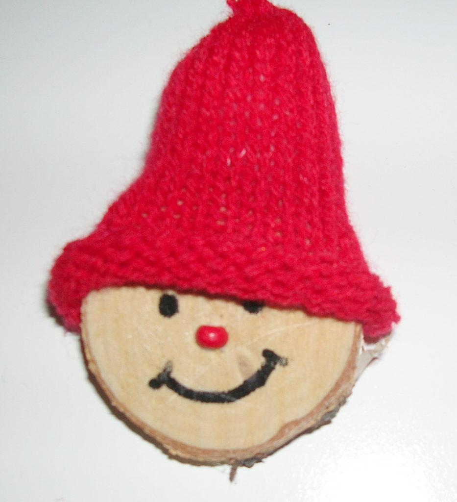 Scheibe mit Mütze