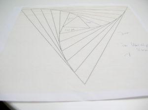 Papierschablone