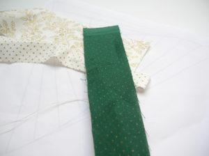 Grüner Papierstreifen