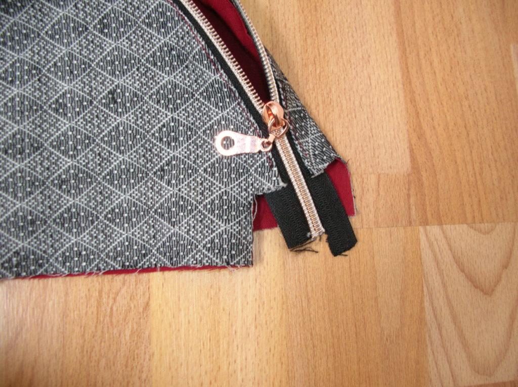 Zipper aufziehen