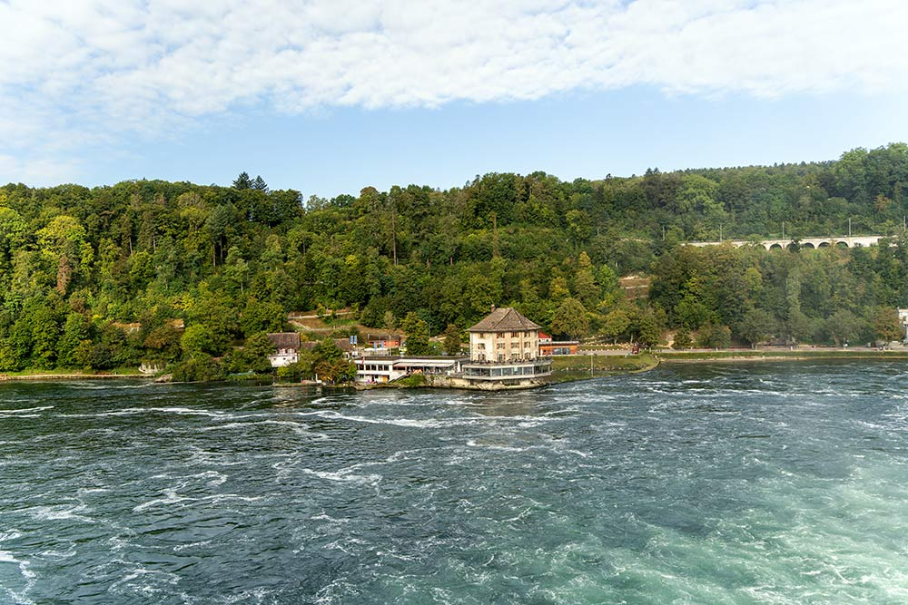 Das Schlössli Wörth am Rheinfall